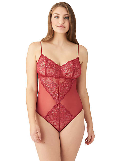 Level Up Lace Bodysuit - Lounge - 836369