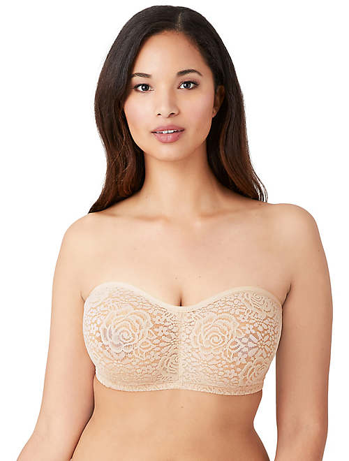 Halo Lace Strapless Underwire Bra - Lace - 854205