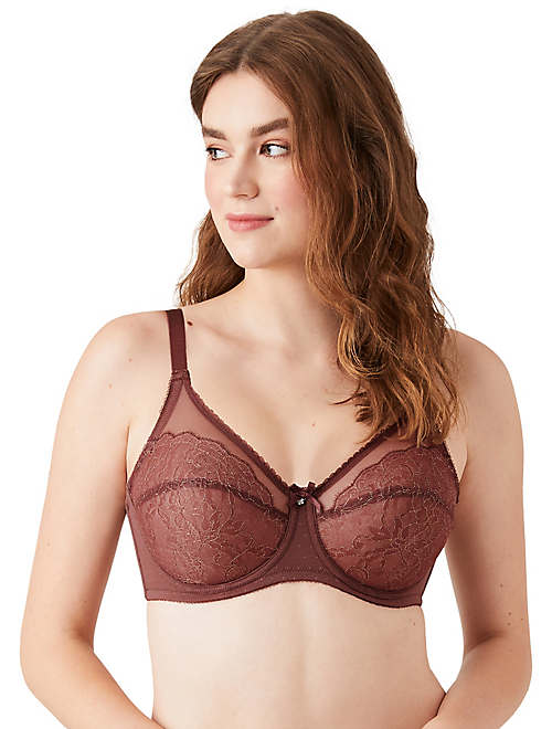 Retro Chic Full Figure Underwire Bra - New Markdowns - 855186