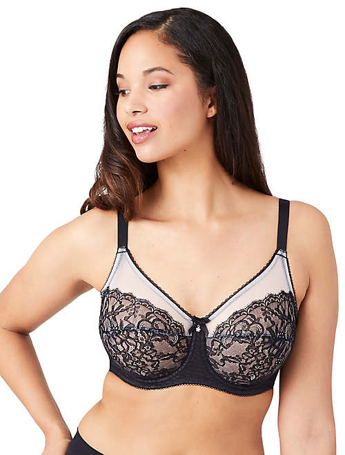 Retro Chic Full Figure Underwire Bra - 40DD - 855186