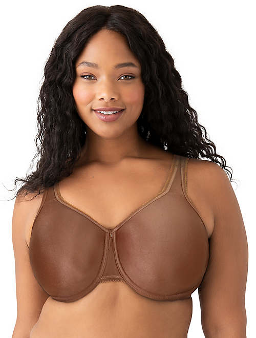 Basic Beauty Full Figure Seamless Underwire Bra - Bras - 855192