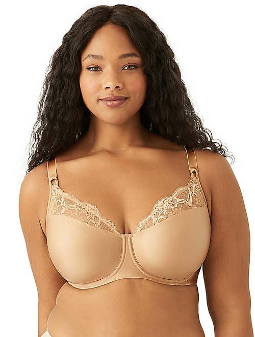Lace Impression Underwire Bra - Plus Size - 855257