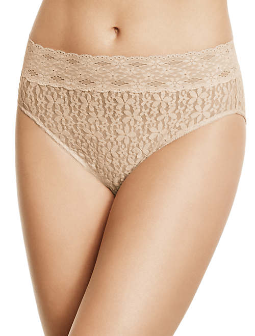 Halo Lace Hi-Cut Brief - 870305