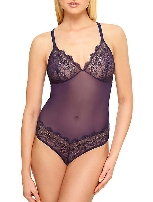 b.tempt'd Wink Worthy Bodysuit - Chemise & Lounge - 936221